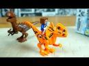 МАЙНКРАФТ на ДИНОЗАВРАХ китайское лего Minecraft минифигурки