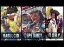 DSPStanky vs BadLucio (FunnyAstro) vs Tobi - Gods of Lucio 😱 | Overwatch Moments