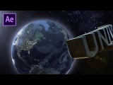 Universal Movie Ident After Effects Tutorial using Element 3D