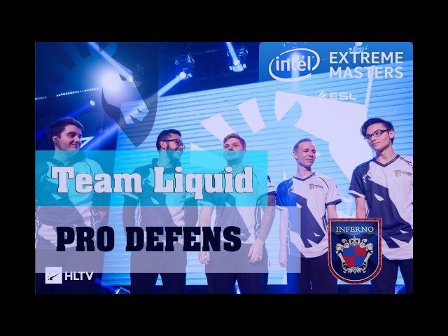 Защита на de_inferno от Team Liquid Defens inf de_inferno from liquid