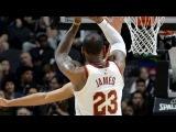 LeBron James (28 pts, 9 reb, 7 ast, 1 blk) Highlights vs Spurs Jan 23 2017-18 NBA Season
