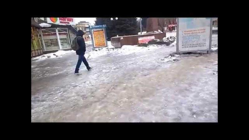 Ледяные дороги г Шахты