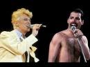 David Bowie & Freddie Mercury