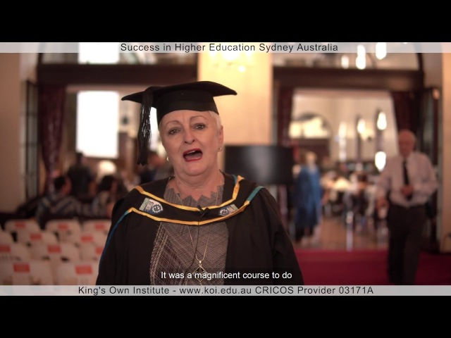 KOI Graduate Film Beverly Best, Australia, Master of Arts TESOL