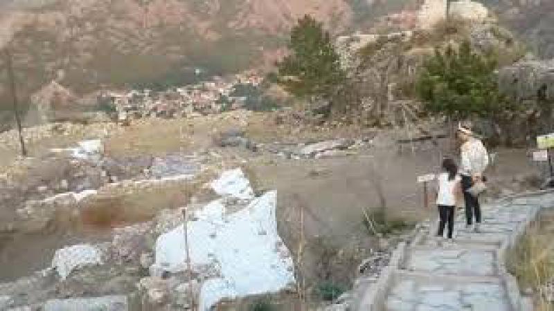 Amasya Kalesi şehir manzarası na bakmak