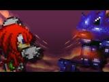 Knuckles VS Mecha Sonic: Sprite Animation
