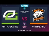 НОВЫЙ СОСТАВ VP vs Optic RU (bo1) ESL One Katowice 2018 Major Group A 20.02.2018