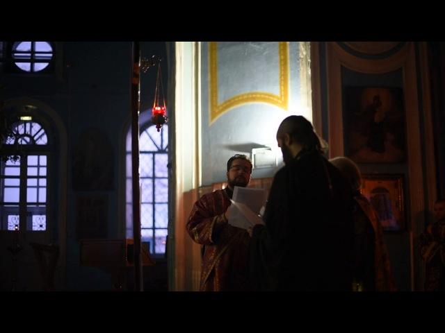 Днесь висит на древе, Пассия, г. Котельнич. Хор духовенства епархии.