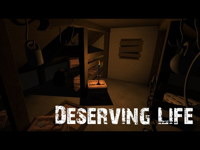 Deserving Life - A Roomscale VR Escape Game for the HTC Vive