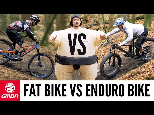 Fat Bike Vs Enduro Bike Fun or Fast