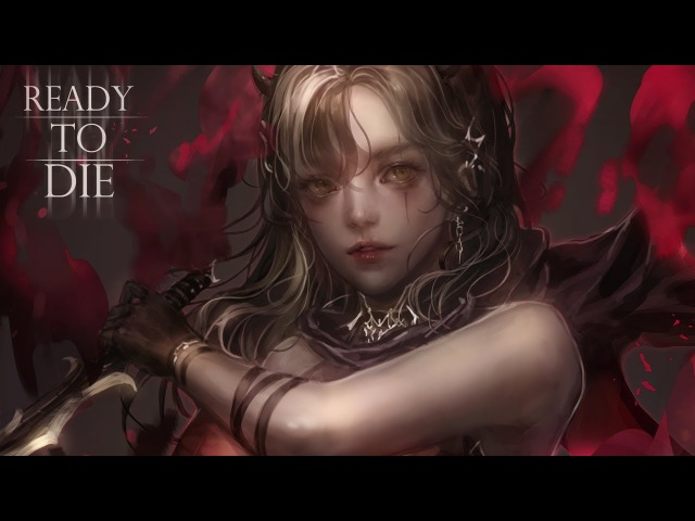Painting process - Ready To Die (XP-pen Artist13.3)