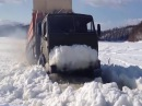 Вот это настоящие водители Молодцы мужики Дороги крайнего севера Зимник