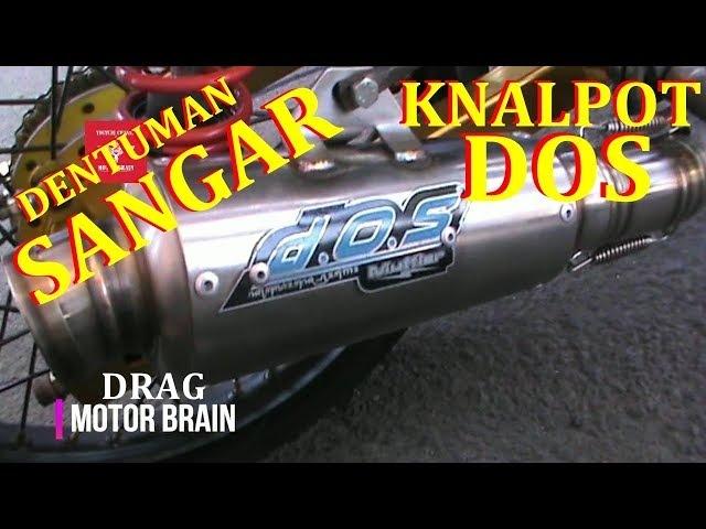 Begini SUARA KNALPOT DOS Jupiter Krisna Lena | VIDEO DRAG BIKE