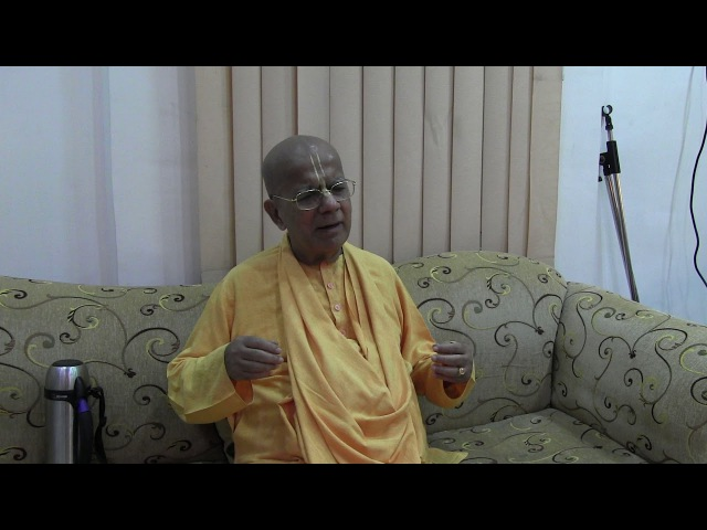 H.H. Gopal Krishna Goswami, Darshan, Vrindavan, 31.10.2016