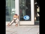 Street Fighter Hadouken Door