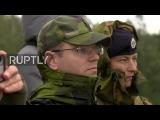 Belarus International OSCE observers monitor Zapad 2017 military drills