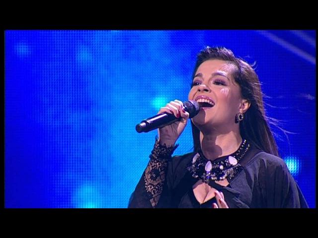 Диана Хашимханова. С. Ротару - Лебединая Верность. X Factor Казахстан.3 концерт.12 сер...