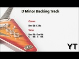 Melodic Rock Guitar Backing Track D Minor