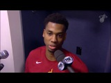 Hassan Whiteside Postgame Interview Heat vs Nets January 19, 2018 2017-18 NBA Season