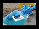 АВТОБУС ТАЙО Паровозик ТОМАС и ВЕРТОЛЁТ Играют в Мячики Видео про Игрушки Машин