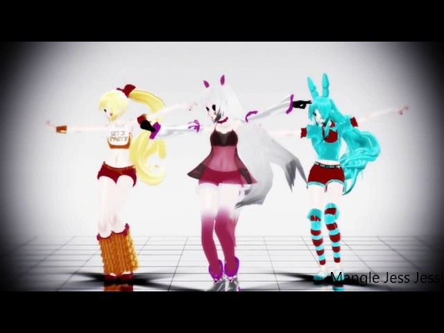 Follow The Leader (MMD FNAF) DL | Mangle Jess Jessi