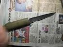 Якутский походно экспедиционный нож и прибамбас в пенал