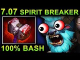 UNLIMITED BASH SPIRIT BREAKER - DOTA 2 PATCH 7.07 NEW META PRO GAMEPLAY
