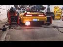 Honda NSX Supercharged Dyno 2Step FLAMES