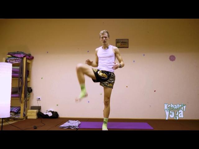 Мощный фронт-кик и подвздошно-поясничная мышца