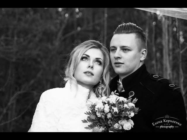 Владислав и Кристина - Свадебная фотопрезентация' ноябрь 2017