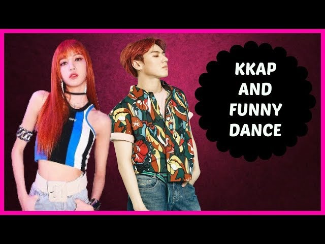 KPOP IDOLS DOING KKAP FUNNY DANCES - EXO BTS TWICE GOT7 ETC