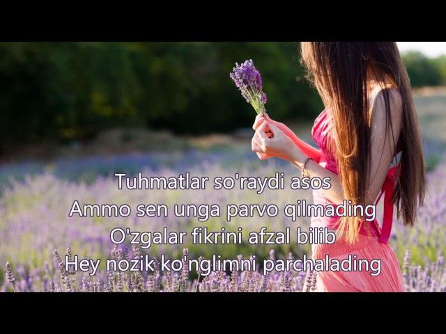 Maxsuma - Seni Unutdim |Lyrics|, Qo'shiq Matni bilan