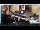 Blue Christmas Elvis Presley Yamaha Tyros 5 Roland G70 By Rico