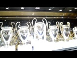 Музей ФК Реал Мадрид. Real Madrid museum.