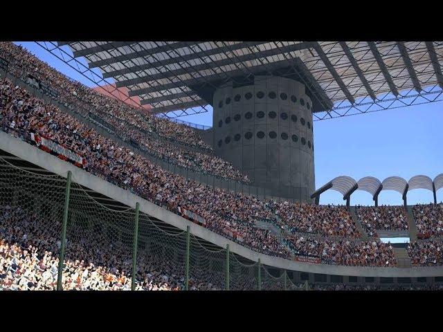 AC Milan vs Udinese   Serie A   San Siro   PES 2017 Full HD 1080p60   Super Star