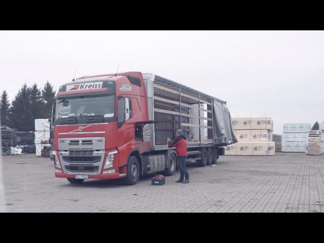 Volvo FH, Kreiss, Финляндия, Эстония, Латвия, Дальнобой, Рейс в Европу, тест драйв, Серия 6