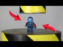Toys Review Hydraulic Press VS Lego Ninjago And Toys The Crusher