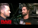 Seth Rollins wants a rematch with Finn Bálor Raw Exclusive, March 19, 2018