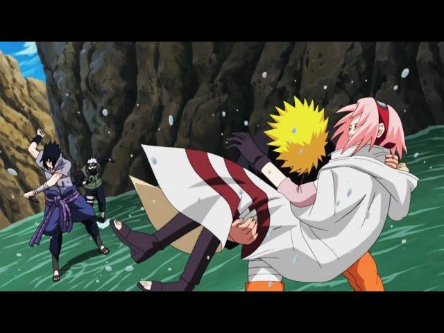 Какаши и Наруто против Саске чуть не убил Сакуру