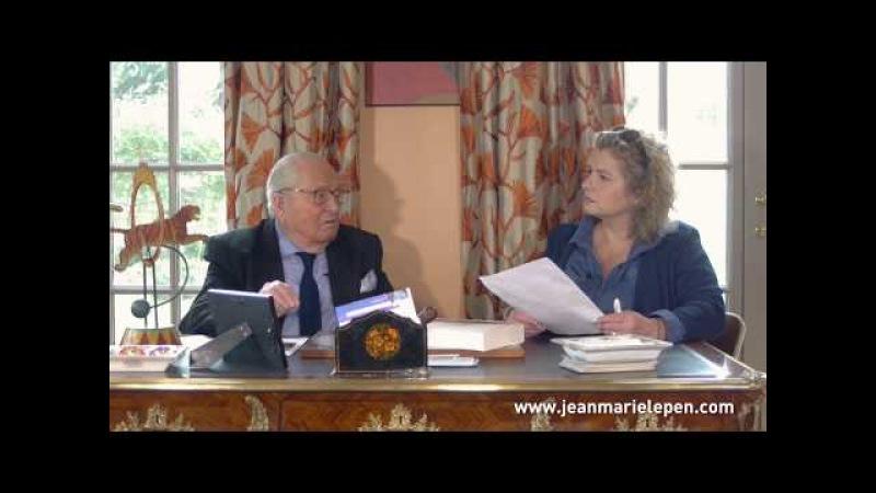 Journal de bord de Jean-Marie Le Pen n°501