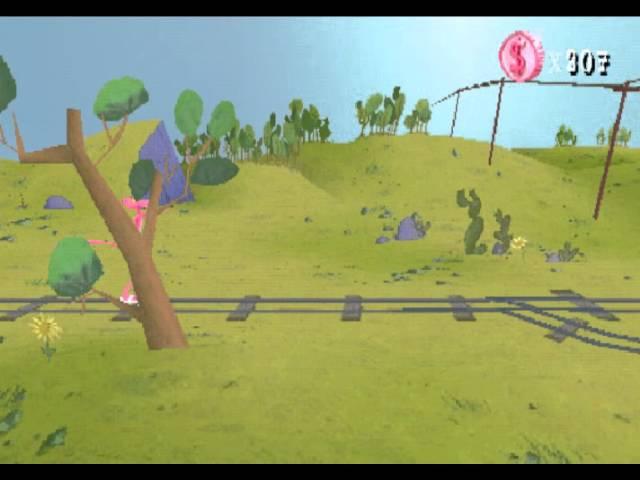 Прохождение игры Pink Panther - Pinkadelic Pursuit [PS1] часть 2