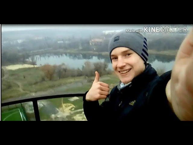 Залезли на водонапорную башню Denis Roof и Миша