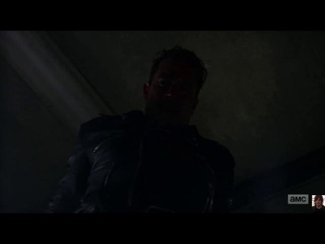 The Walking Dead 8x05 Negan And Father Gabriel Opening Scene 8 5 Ходячие мертвецы Ниган и Габриель