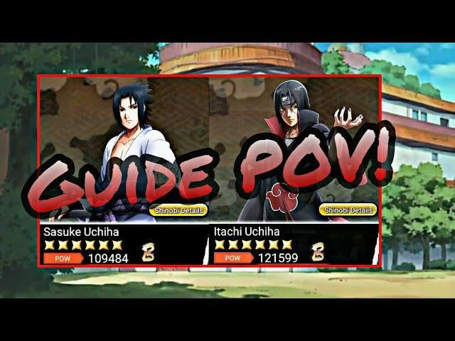 Гайд как поднять силу персонажу / Naruto x Boruto ninja voltage