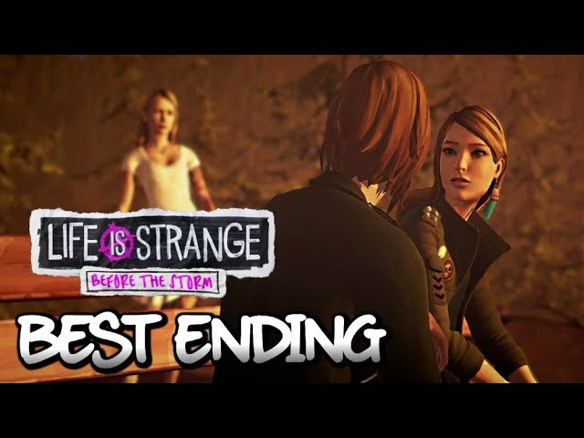 LIFE IS STRANGE: Before the Storm ALL ENDINGS (Both Choices) | Meet Sera
