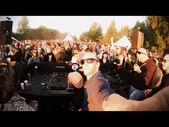 1 Hour Live - Ann Clue B2B Boris Brejcha @ Smiling Sun Open Air, Stockholm 2016