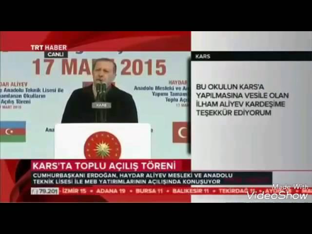 Erdogan türkiye-azerbaycan siiri