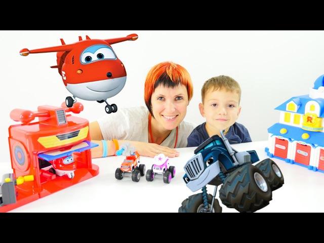 Мультики про машинки ВСПЫШ и чудо машинки. Маша Капуки кануки и Игрушки. Видео для детей
