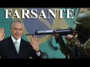 Temer CONFESSA: intervenção no Rio é FARSA