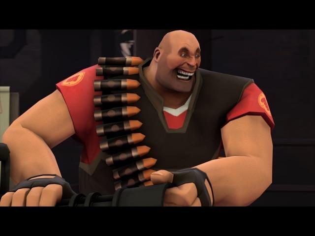[SFM] Meet The Heavy (400 facial expressions)
